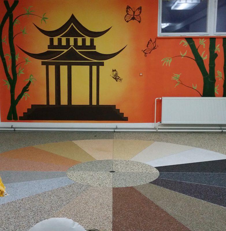 kamenny koberec do interieru